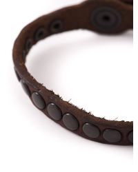 DIESEL | Brown 'agelo' Bracelet for Men | Lyst