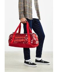 Patagonia - Red Black Hole 45l Duffel Bag for Men - Lyst