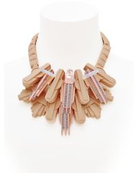 EK Thongprasert | Brown Art De Co' Necklace | Lyst