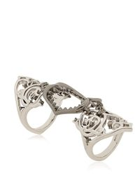 Stephen Webster - Metallic Les Dents De La Mer Filigree Shark Ring - Lyst