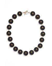 Rachel Zoe | Metallic 'prestley' Collar Necklace | Lyst