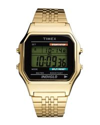 Timex | Metallic '80 Classic' Digital Bracelet Watch | Lyst