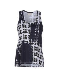 Balenciaga | Blue Vest | Lyst