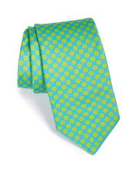 Ted Baker - Blue 'candy Dots' Silk Tie for Men - Lyst