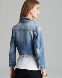 Joe's Jeans - Blue Jacket Denim Cardi - Lyst