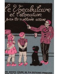 Olympia Le-Tan - Blue A Family Affair Book-clutch - Lyst