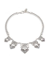 Lulu Frost | Metallic Labyrinth Necklace | Lyst