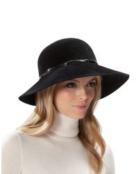 Eric Javits | Black Rabbit Fur Felt Hat | Lyst