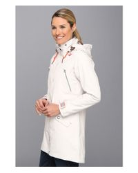 Helly Hansen - Gray Lymington Long Coat - Lyst