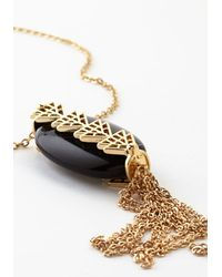 Ana Accessories Inc - Black Hooray Of Light Necklace - Lyst