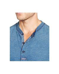 Polo Ralph Lauren - Blue Textured Henley Shirt for Men - Lyst