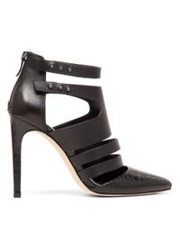 BCBGeneration | Black Canon Leather Stilettos | Lyst