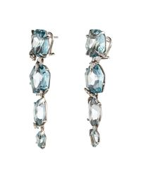 Alexis Bittar - Blue Four-drop Quartz Post Earring You Might Also Like - Lyst