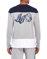Billionaire Boys Club - Ice Cream - Gray Jerz Long Sleeve Knit Tee for Men - Lyst