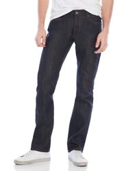 Natural Selection | Blue Dark Wash Straight Jeans for Men | Lyst