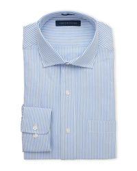 Tommy Hilfiger | Blue Seersucker Dress Shirt for Men | Lyst