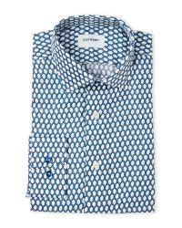 Duchamp | Blue Slim Fit Knot Dress Shirt for Men | Lyst