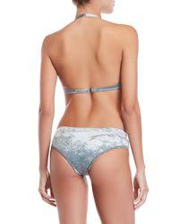 Prada - Blue Solid Bikini - Lyst