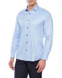 Jared Lang - Light Blue Shirt for Men - Lyst