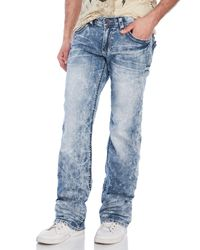 Affliction | Blue Cooper Standard Jeans for Men | Lyst