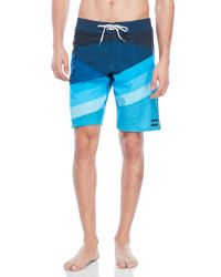 Billabong   Blue Slice Platinum X Board Shorts for Men   Lyst