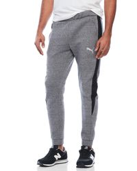 PUMA | Gray Evostripe Proknit Pants for Men | Lyst
