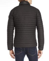 Superdry Black Racer Quilted Puffer Jacket for men
