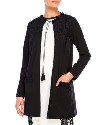 T Tahari | Black Colette Jacket | Lyst