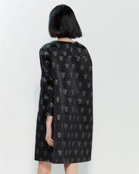 Ter Et Bantine Black Spider Motif A-line Dress