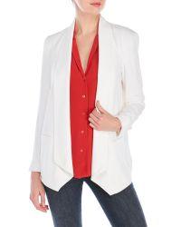 Rebecca Minkoff | White Silk Becky Jacket | Lyst