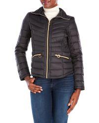 MICHAEL Michael Kors   Black Packable Down Jacket   Lyst