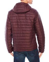 Weatherproof - Purple Hooded Packable Down Jacket for Men - Lyst