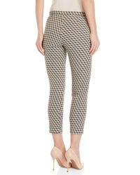 GAUDI - Black Geometric Patterned Pants - Lyst