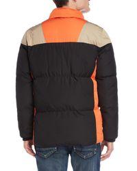 Bellfield - Black Color Block Gallatin Jacket for Men - Lyst