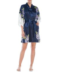 Jones New York | Blue Wisteria Garden Print Wrap | Lyst