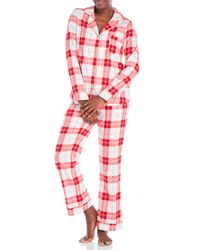 UGG   Red Give Warmth Plaid Pajama Set   Lyst
