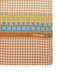 Pollini - Multicolor Printed Woven Scarf - Lyst