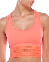 New Balance - Multicolor Y-Back Cage Cropped Sport Tank - Lyst
