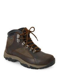 Timberland   Dark Brown Thorton Mid Gore-Tex Waterproof Boots for Men   Lyst