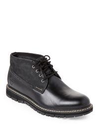 Timberland | Black Britton Waterproof Chukka Boots for Men | Lyst