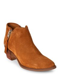 Steven by Steve Madden   Brown Camel Doris Pointed Toe Ankle Booties   Lyst