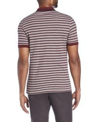 Fred Perry - Multicolor Classic Stripe Pique Shirt for Men - Lyst
