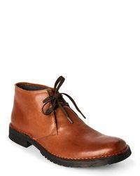 John Varvatos - Brownstone Star D Chukka Boots for Men - Lyst