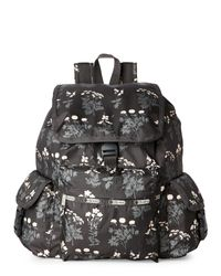LeSportsac | Gray Voyager Flowerbed Backpack | Lyst