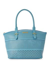 Kenneth Cole Reaction - Blue Turquoise Breezy Satchel - Lyst