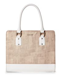 Nine West | Multicolor Apricot & Snowpetal You & Me Satchel | Lyst