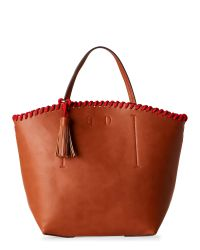 Steve Madden | Multicolor Cognac B-Geri Whipstitched Tote | Lyst