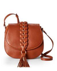 Foley + Corinna | Honey Brown La Trenza Saddle Bag | Lyst