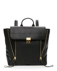 3.1 Phillip Lim | Black Pashli Large Satchel Tote | Lyst