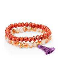 Catherine Stein - Multicolor Double Strand Beaded Bracelets - Lyst